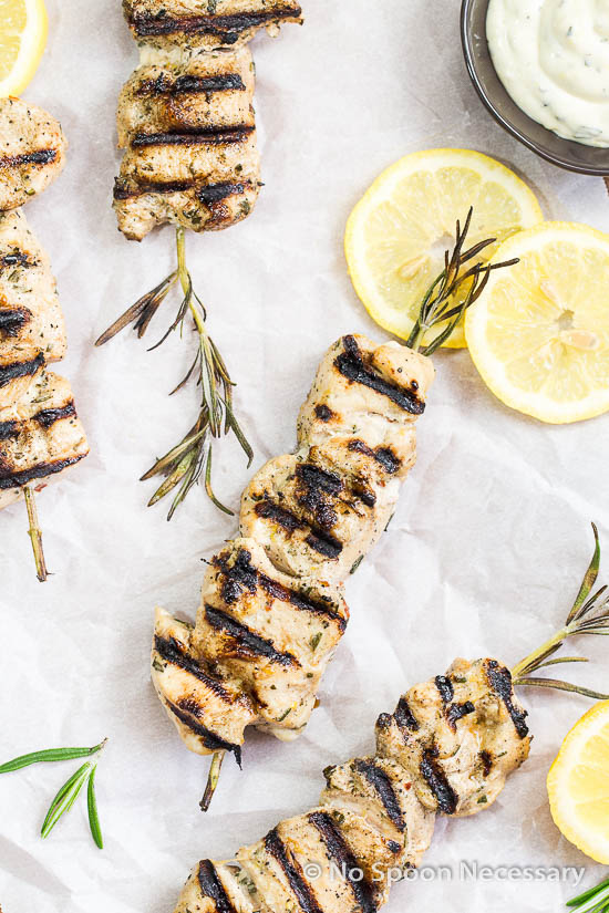 Rosemary Chicken Skewers-8