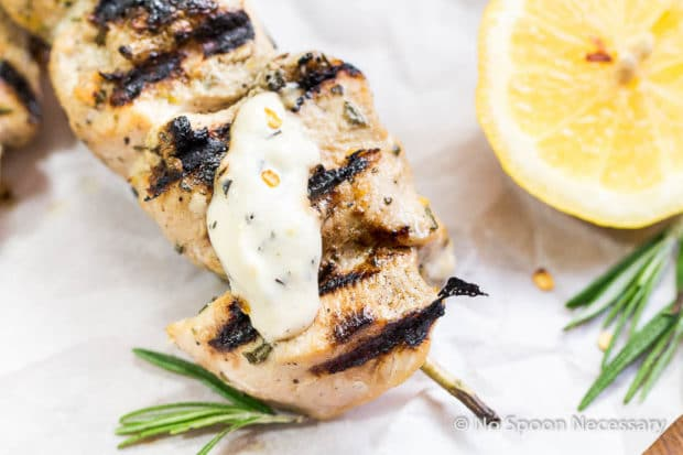 Rosemary Chicken Skewers-99
