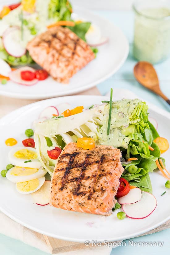 Green Goddess Salmon Salad-229