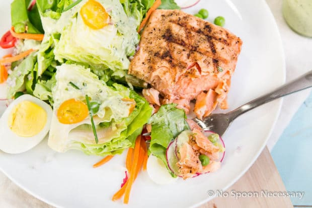 Green Goddess Salmon Salad-236