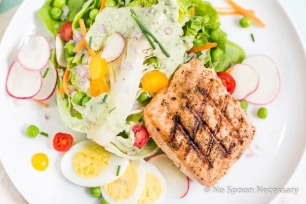Green Goddess Salmon Salad-28