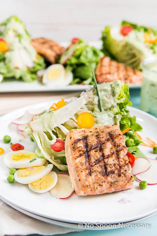 Green Goddess Salmon Salad-97