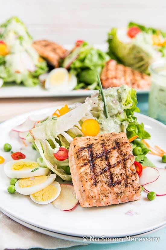 Green Goddess Salmon Salad-97
