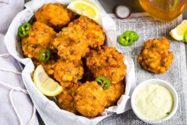 Lobster & Bacon Corn Fritters recipe