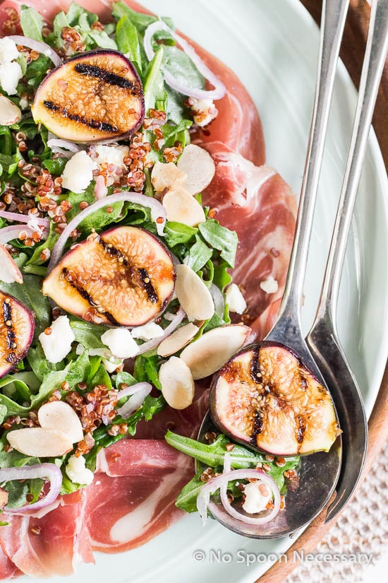 Grilled Fig Arugula Salad-105