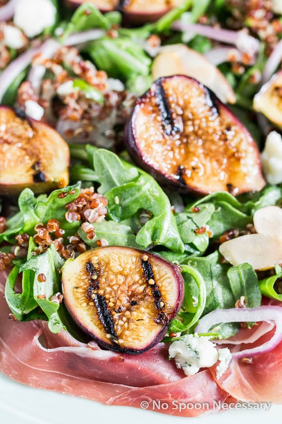 Grilled Fig Arugula Salad-119
