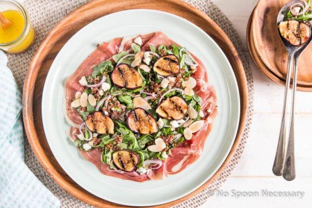 Grilled Fig Arugula Salad-135