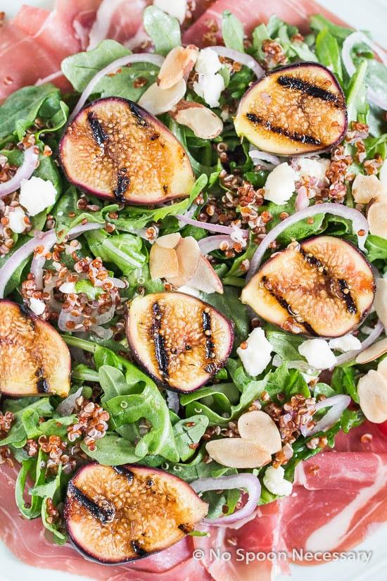 Grilled Fig Arugula Salad-37