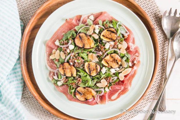 Grilled Fig Arugula Salad-42