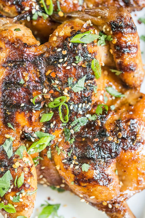 Grilled Szechuan Cornish Hen Pin