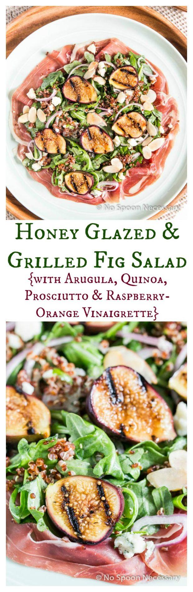 Honey Glazed & Grilled Fig Salad