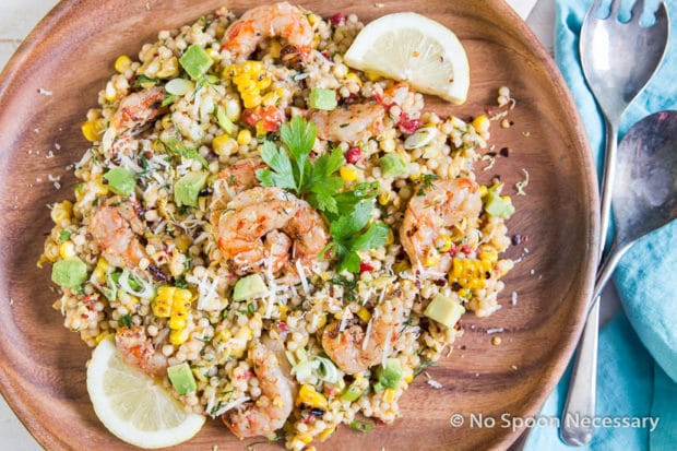 Summer Shrimp Couscous-47