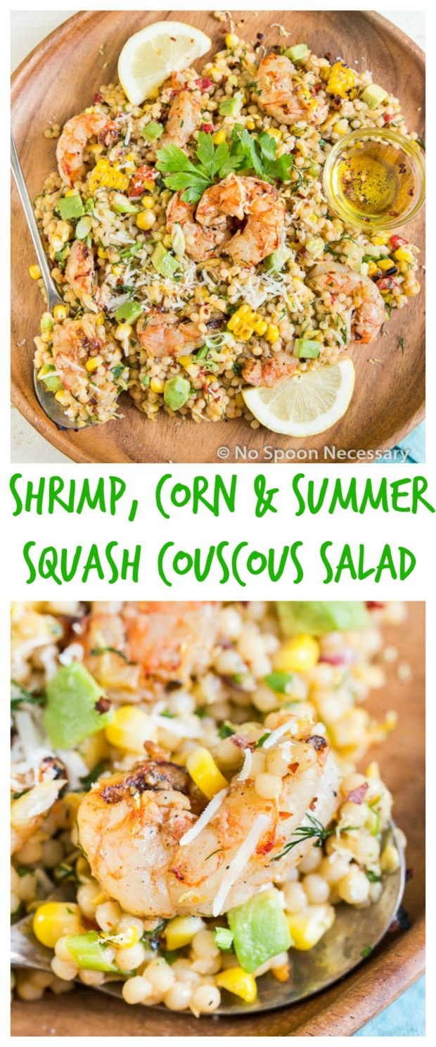 Summer Shrimp Couscous- long pin