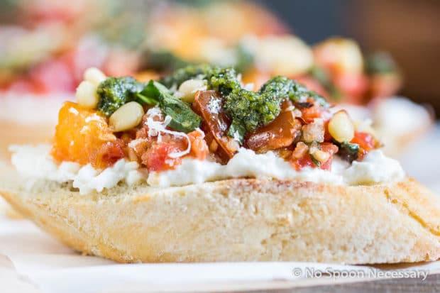 Tomato Burrata Crotini-15