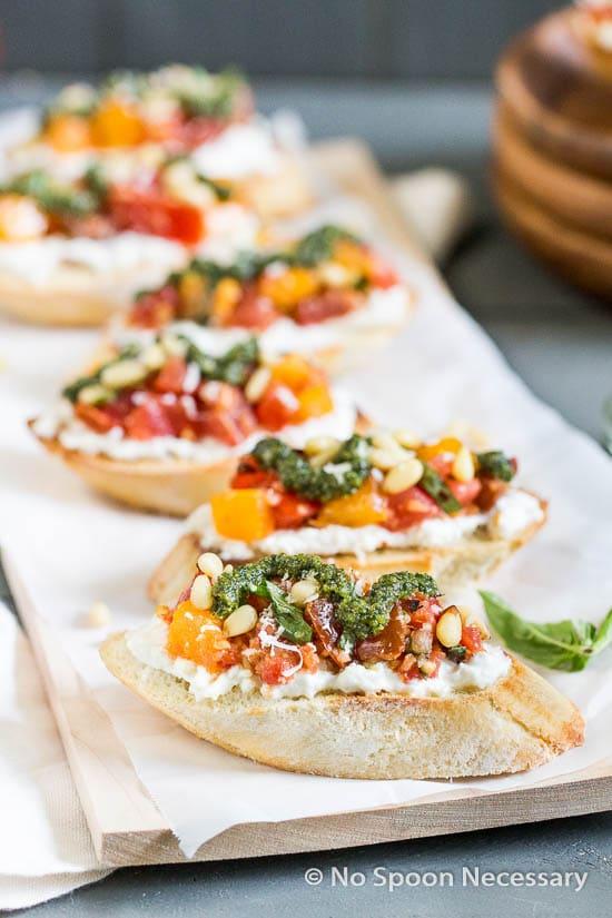 Tomato Burrata Crotini-35