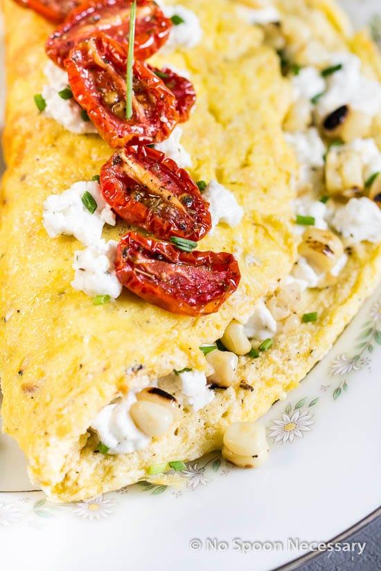 Corn & Chive Omelette-28