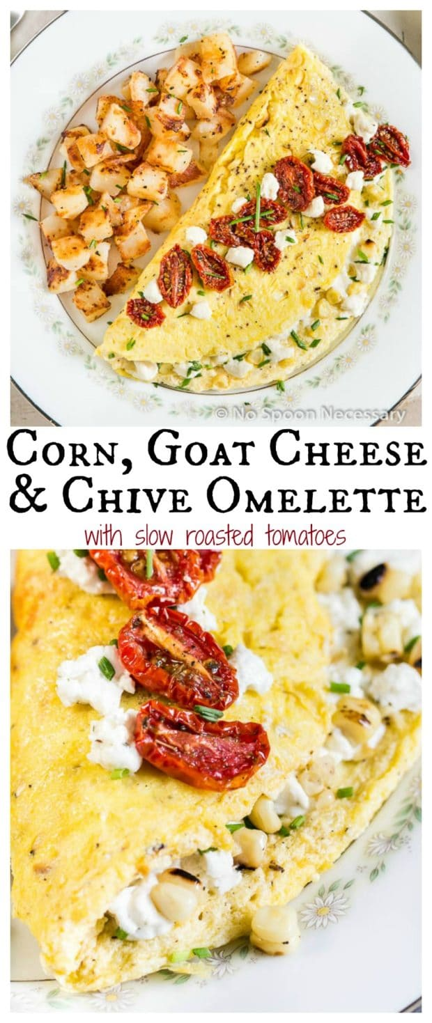 Corn & Chive Omelette long pin