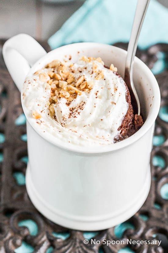 Snickers Mug Cake-60