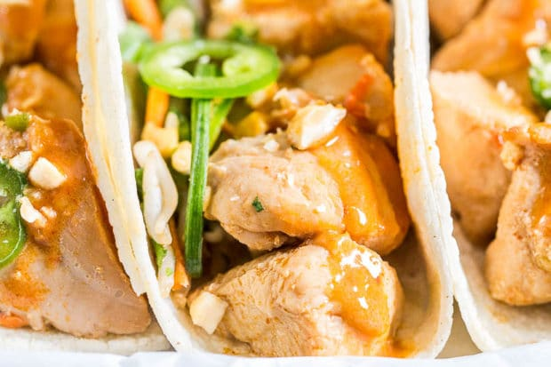 Thai Chicken Tacos-223