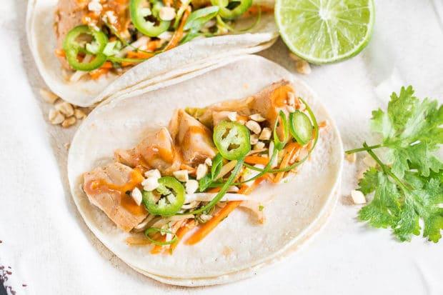 Thai Chicken Tacos-69