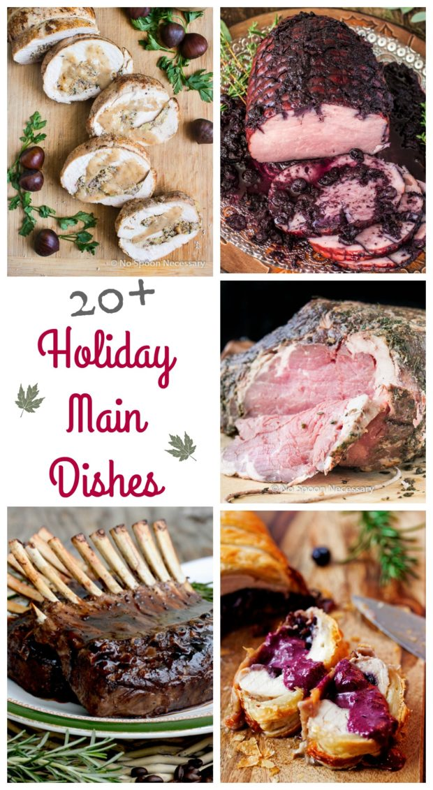 20+ Holiday Main Dishes 1