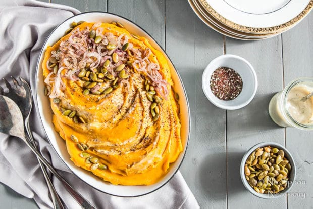 how to make mashed butternut squash