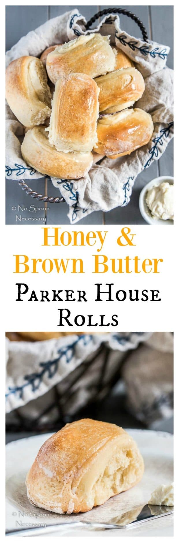 Honey Brown Butter Parker House Rolls