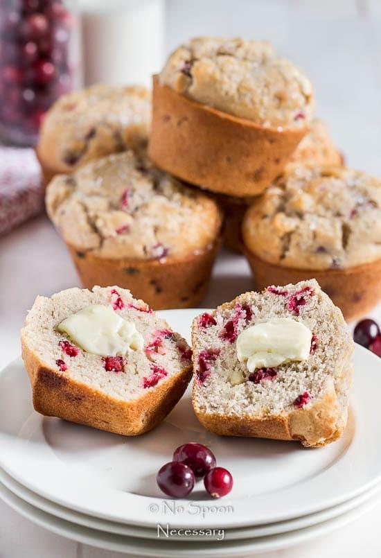 Cranberry & White Chocolate Jumbo Muffins-121