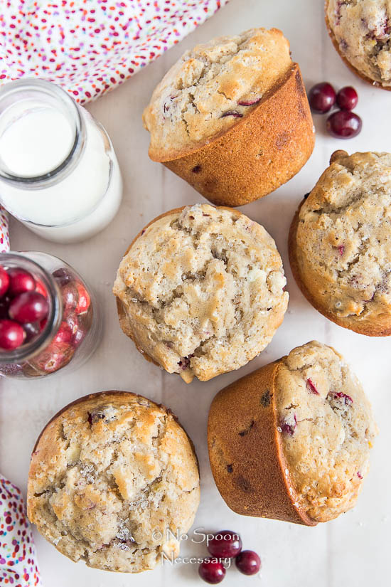 Cranberry & White Chocolate Jumbo Muffins-64