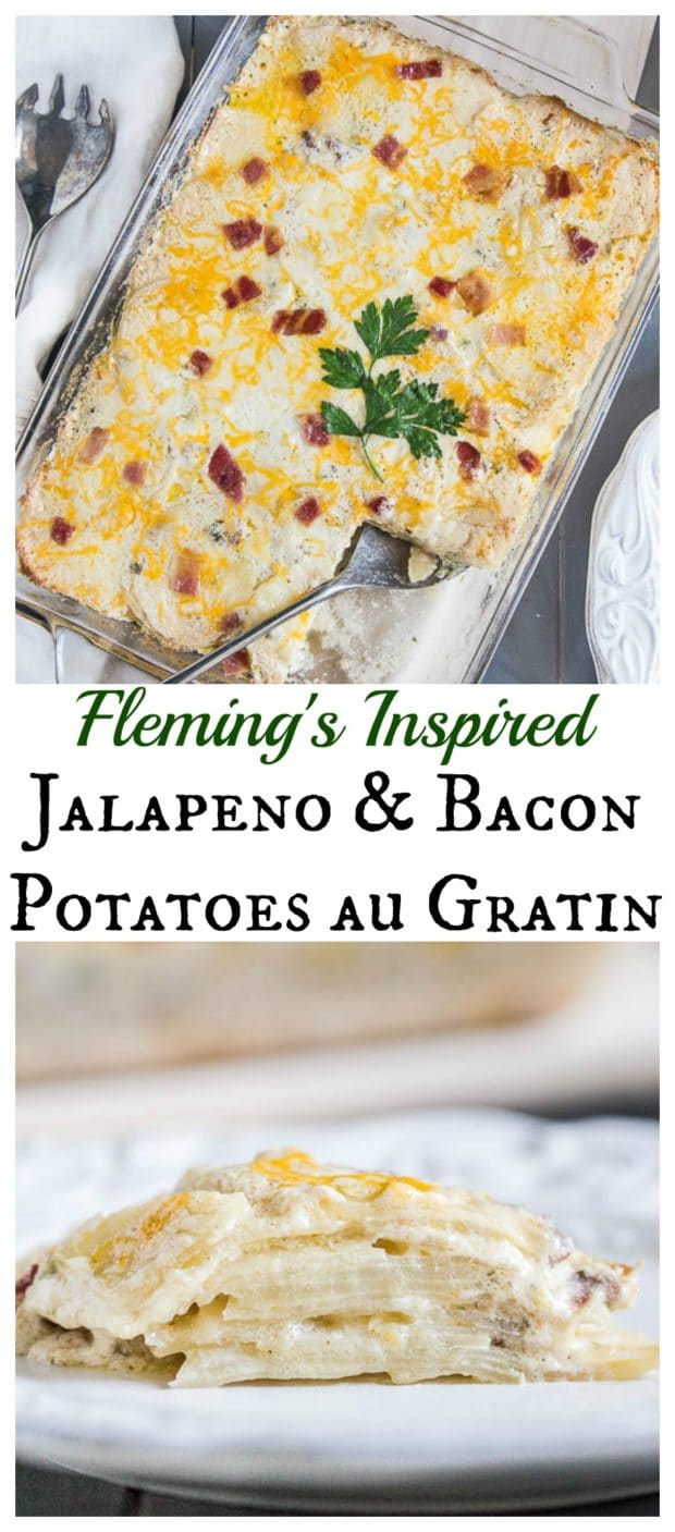 Fleming's Inspired Jalapeno & Bacon Potatoes au Gratin - 8