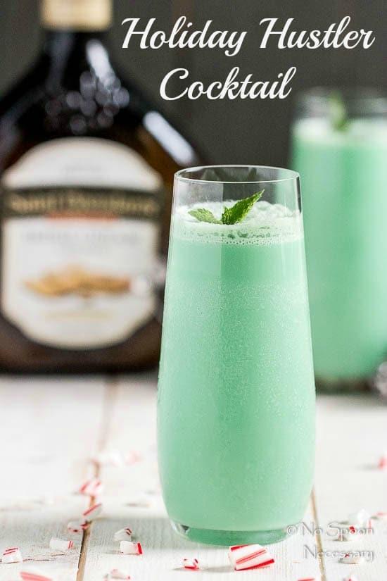 Holiday Hustler Cocktail with Irish Cream-short pin 3