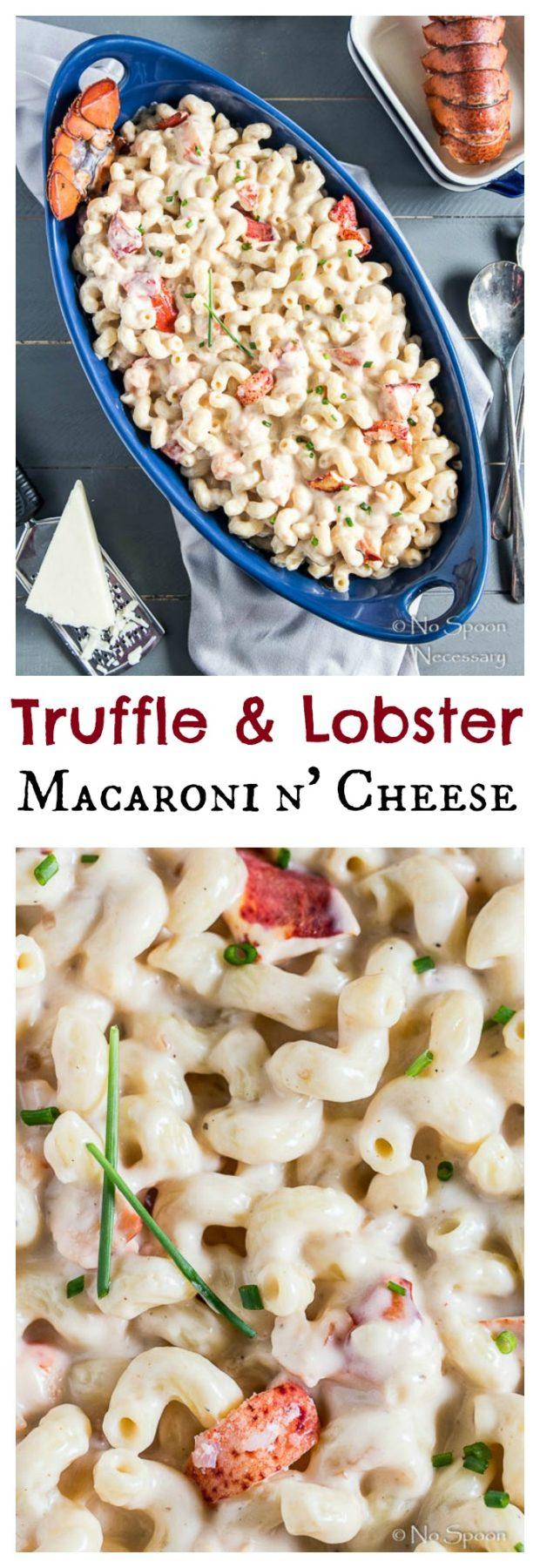 Truffle Lobster Macaroni n' Cheese - No Spoon Necessary