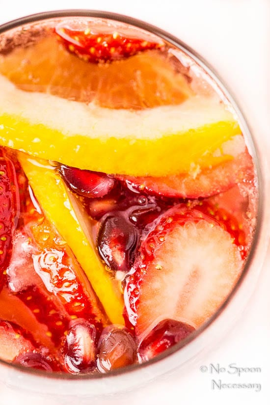 Blood Orange, Pomegranate & Strawberry Champagne Sangria-39