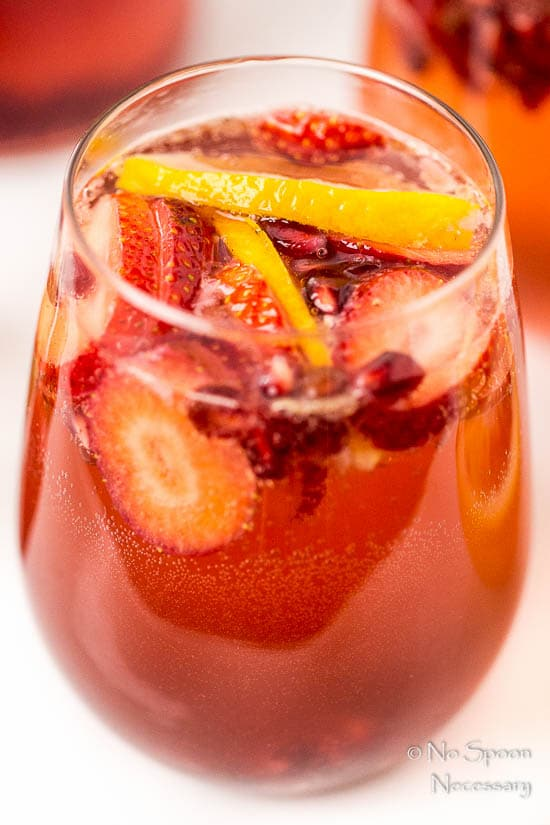 Blood Orange, Pomegranate & Strawberry Champagne Sangria-49