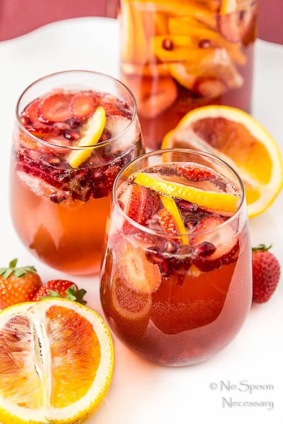 Blood Orange, Pomegranate & Strawberry Champagne Sangria-79