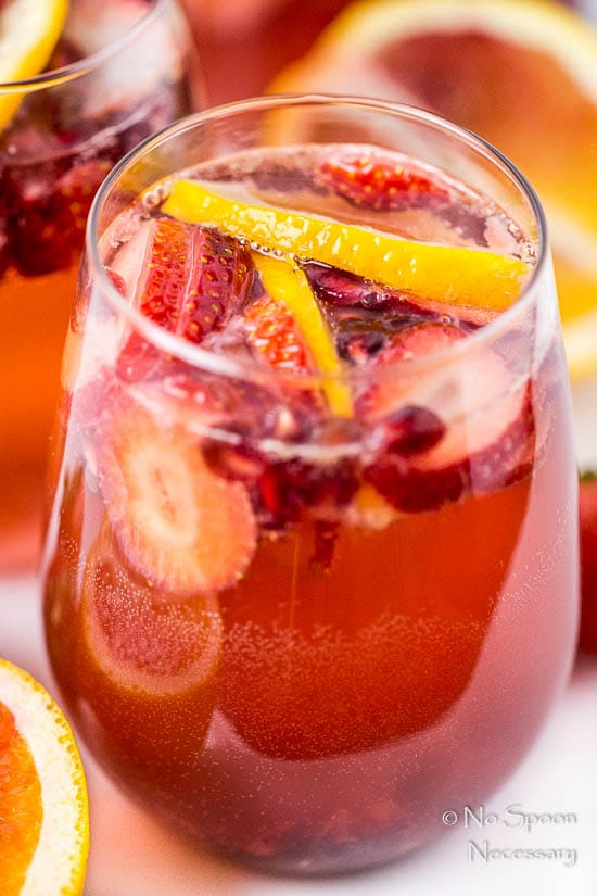 Blood Orange, Pomegranate & Strawberry Champagne Sangria-85