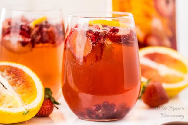 Blood Orange, Pomegranate & Strawberry Champagne Sangria-94