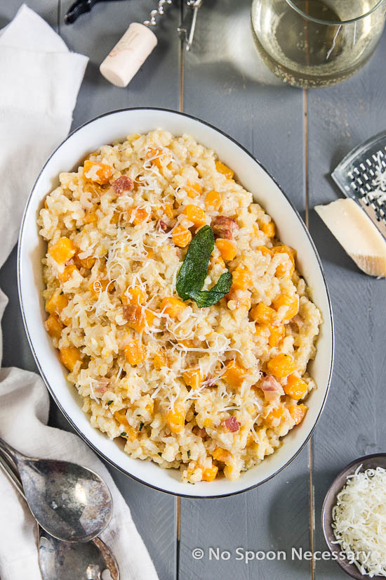 Pasta With Butternut Squash, Sage, And Pine Nuts Recipe — Dishmaps