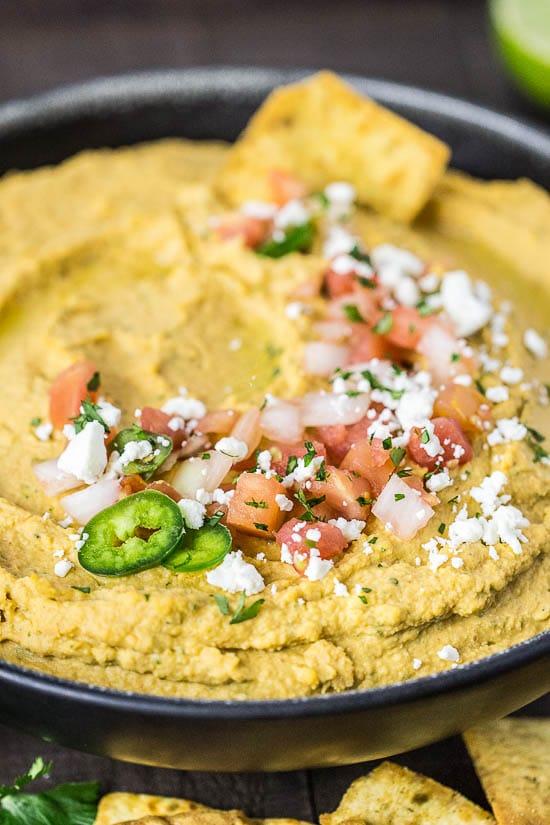 Fajita Flavored Hummus-119