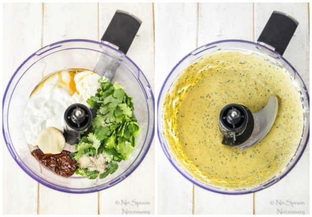 Fajita_Hummus_Crusted_Chicken_Salad - dressing collage