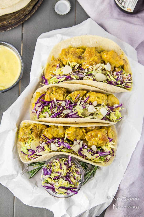 Honey Mustard Chicken Tacos with Brussels Slaw2-78