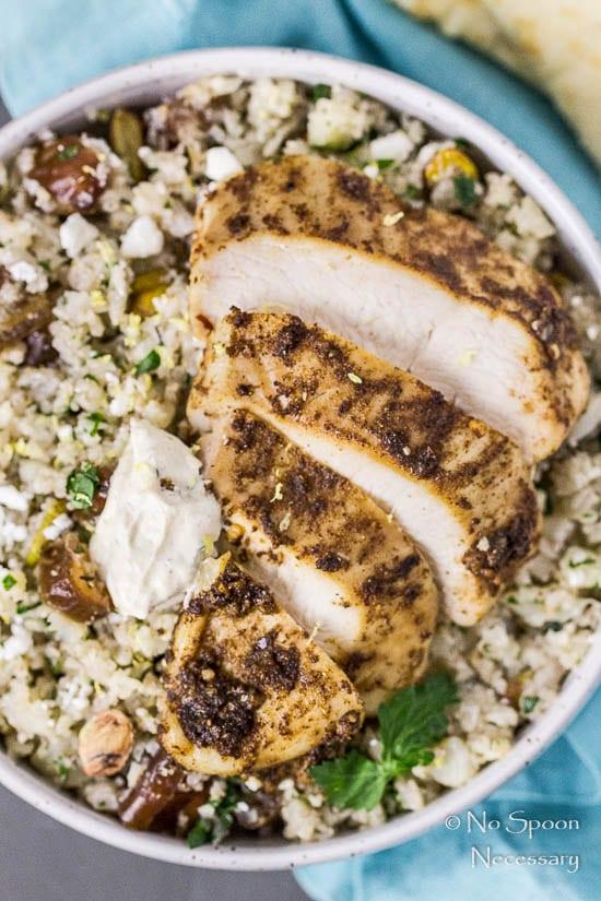 Moroccan Chicken Cauliflower Couscous Bowls-111