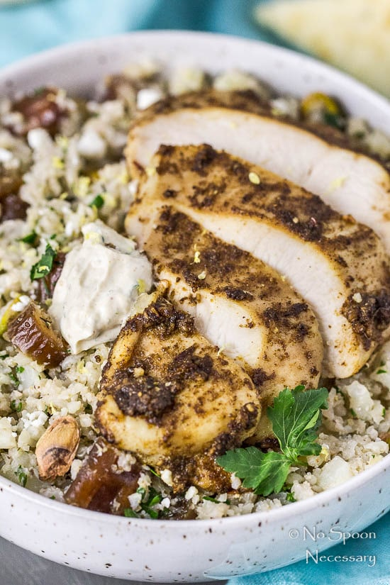Moroccan Chicken Cauliflower Couscous Bowls-131