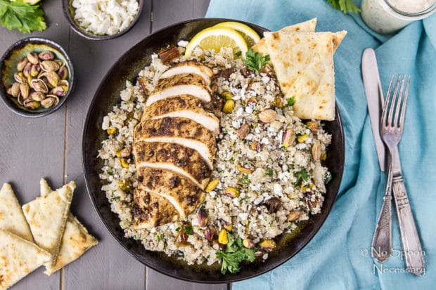 Moroccan Chicken Cauliflower Couscous Bowls-64