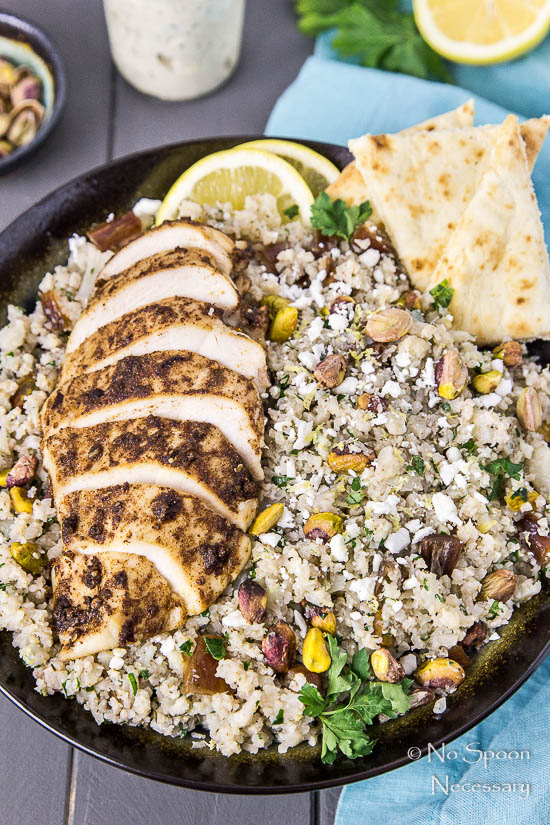 Moroccan Chicken Cauliflower Couscous Bowls-77