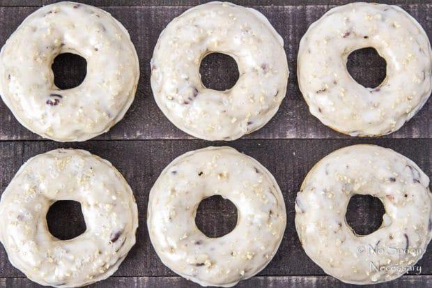 Brown Sugar & Pecan Donuts with Bourbon Maple Glaze-39