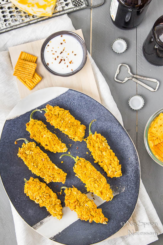 Cheez-It Crusted Bacon Stuffed Jalapeno Poppers-25