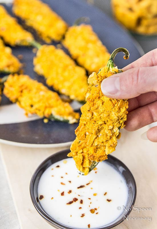 Cheez-It Crusted Bacon Stuffed Jalapeno Poppers-53