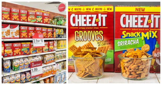 Cheez-It Jalapeno Popper in store photo collage