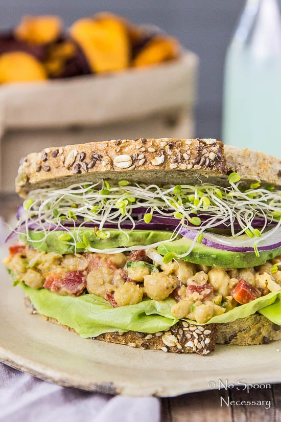 Chipotle Smashed Chickpea Salad Sandwich-100